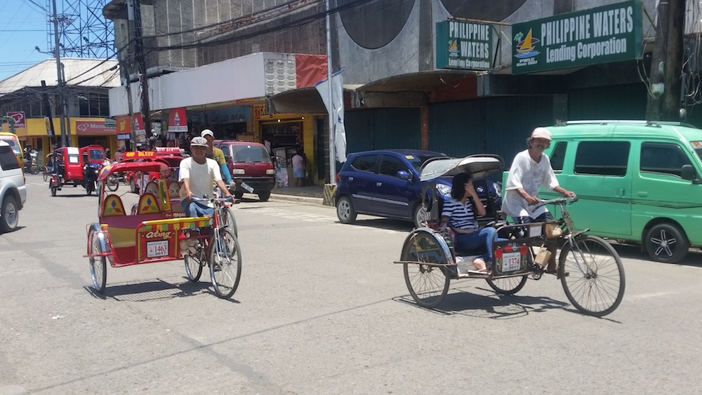 Picture of Pedicabs in San Carlos Cithy