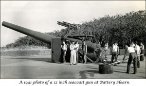 Battery Hearn 1941 Corregidor Island