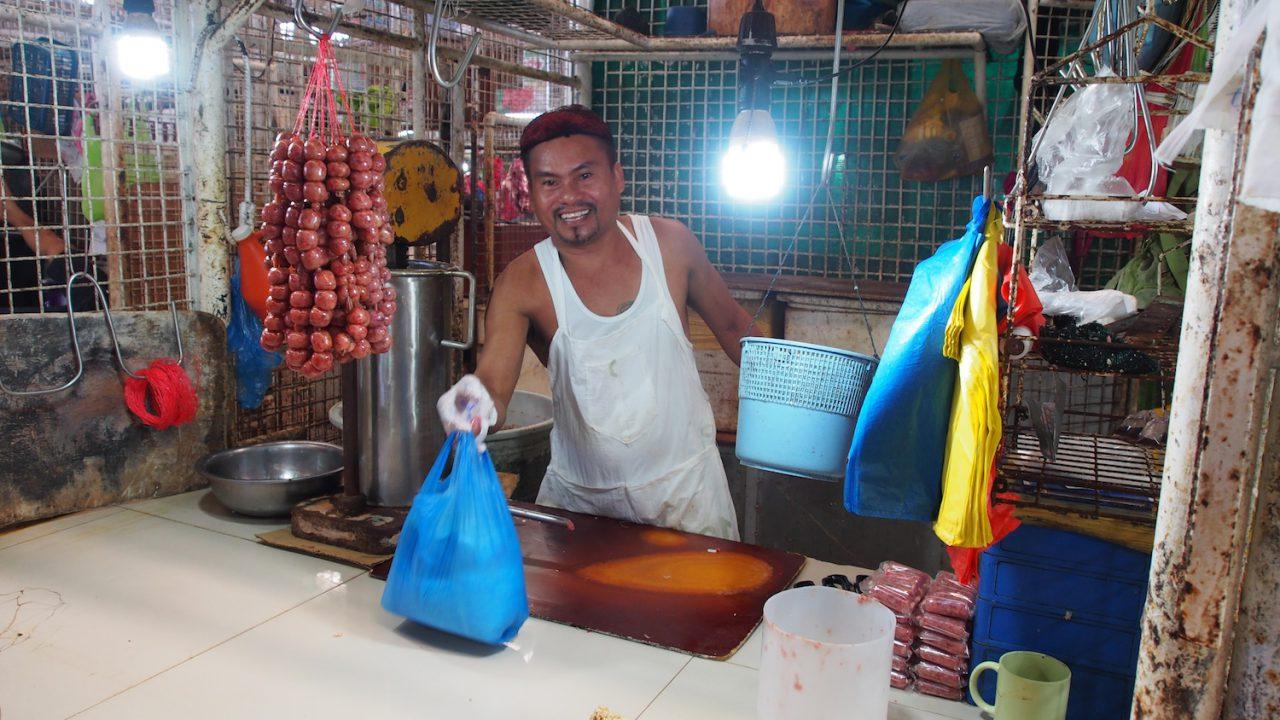 Selling chorizo