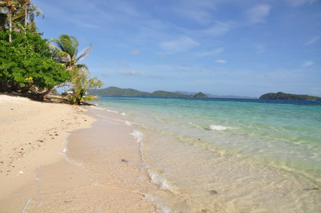 Unspoilt Beach of German Island Port Barton Palawan