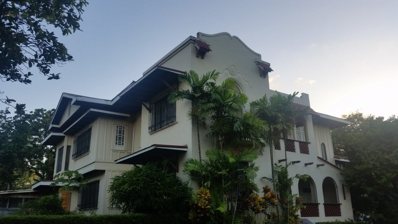 German Locsin Unson Ancestral House front of the house
