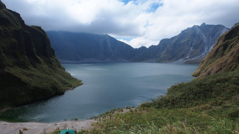 Mount Pinatubo crater lake. Picture by Frans Betgem.