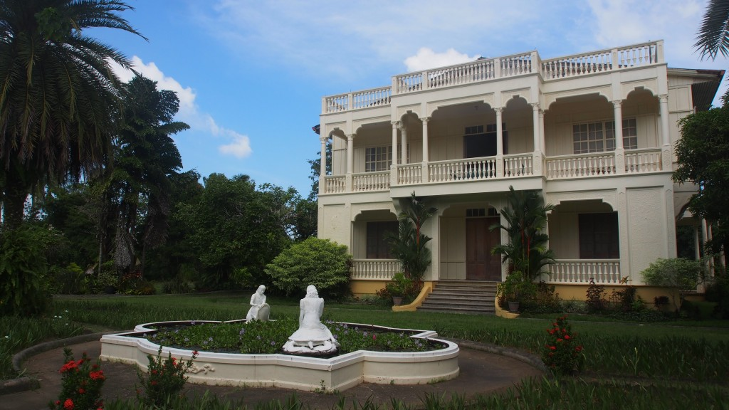 Picture of the beautiful historic Hacienda Sta Rosalia Manapla