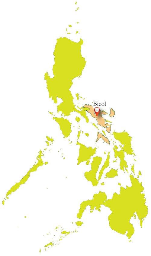 Bicol Philippines Map
