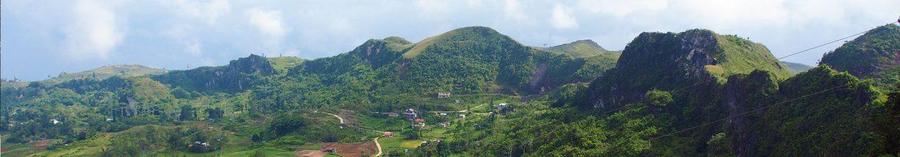 Typical Cebu landscape