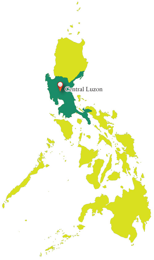 Central Luzon Map