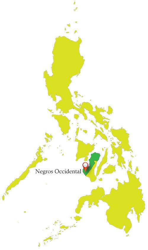 Negros Occidental Map