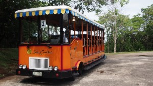 Corregidor 2015 Sun Cruises electric tram