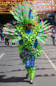Dancer. Sinulog Festival Parade 2015.