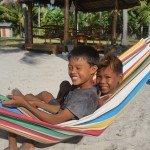 Sipaway boys on the beach