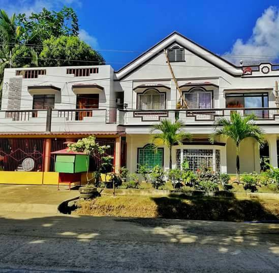 Front of Amas Inn, your homestay in San Jose, Dinagat
