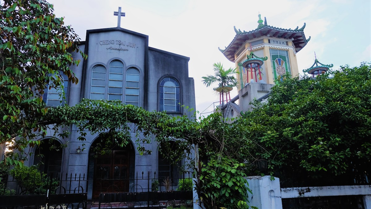 Mausoleums Chinese Cemetery Manila