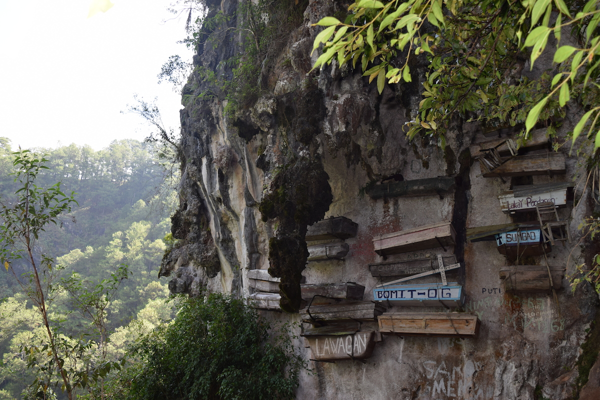 Experience the Philippines Tour with the Hanging coffins in Sagada