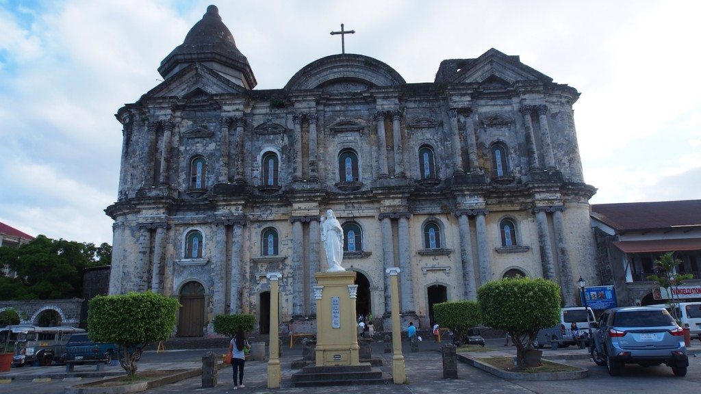 Biggest church of Asia Basilica of St. Martin de Tours