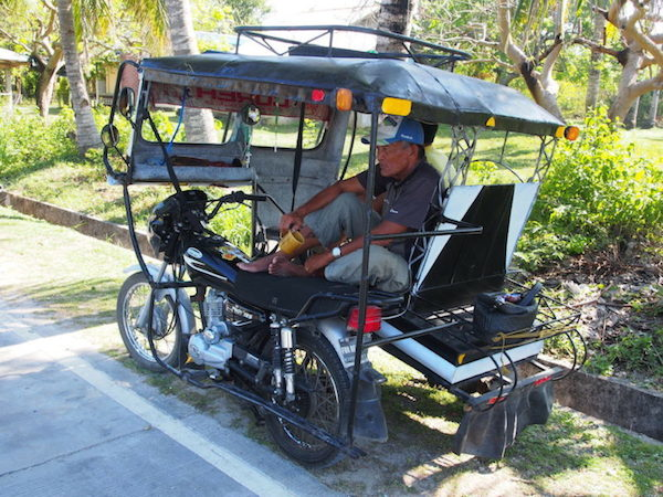 Tricycle on Siquijor Philippines highlights