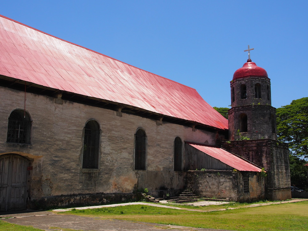View of the St.Isidore de Labrador Church Siquijor - the Best of the Visayas tour