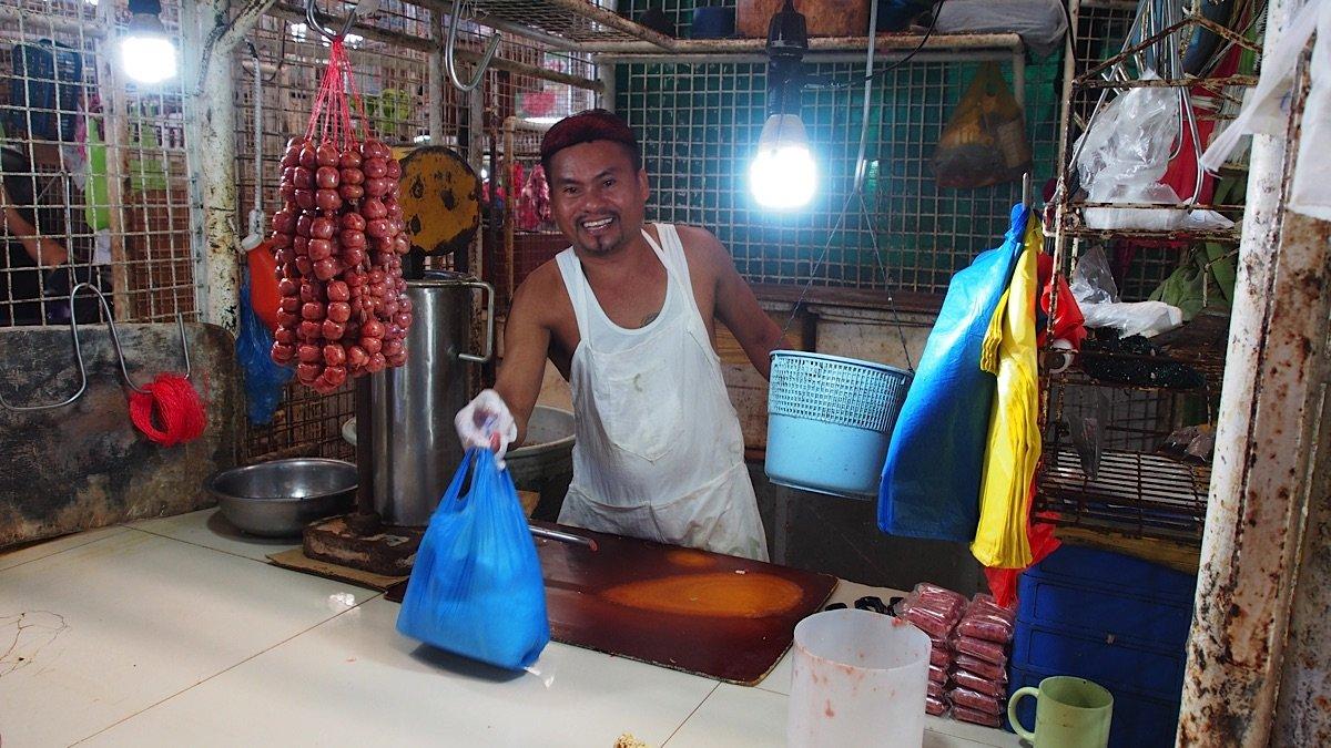 Vendor at Carbon Market