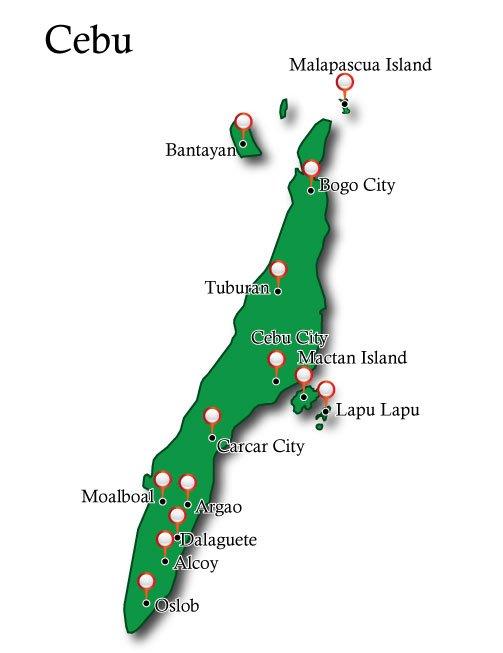Map Cebu
