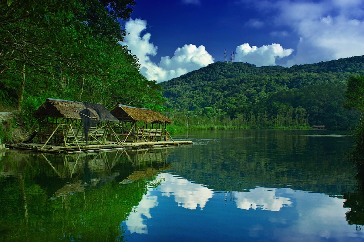 Lake Danao on Leyte