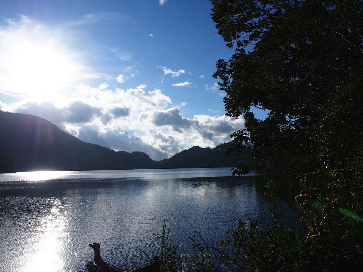 Sunlight on Lake Danao Leyte
