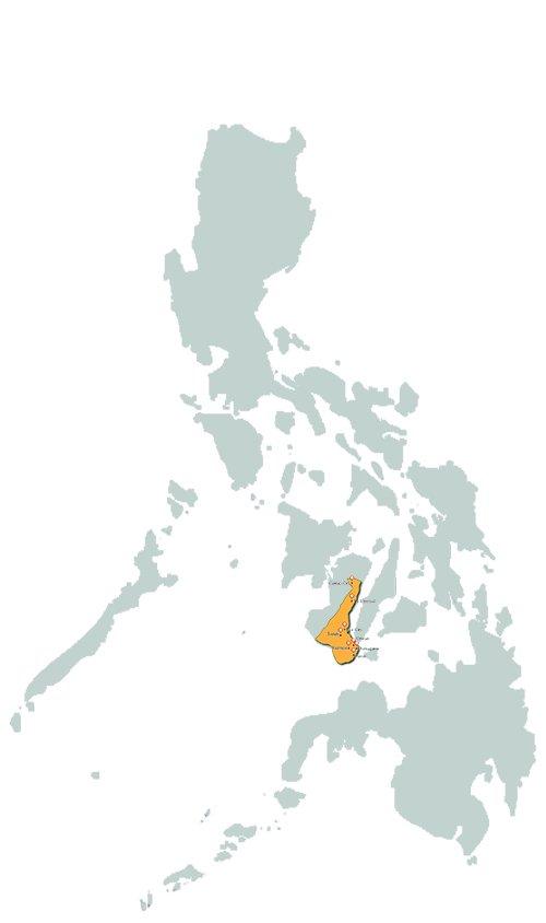 negros oriental_map_philippines