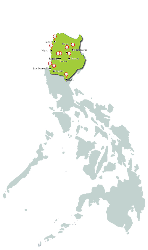 north luzon_map_philippines