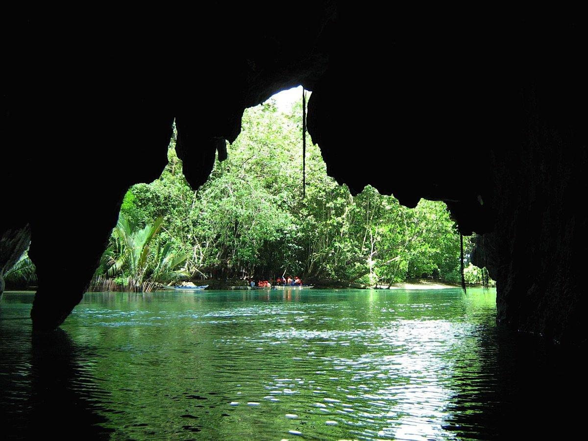 Cave entrance Palawan tours