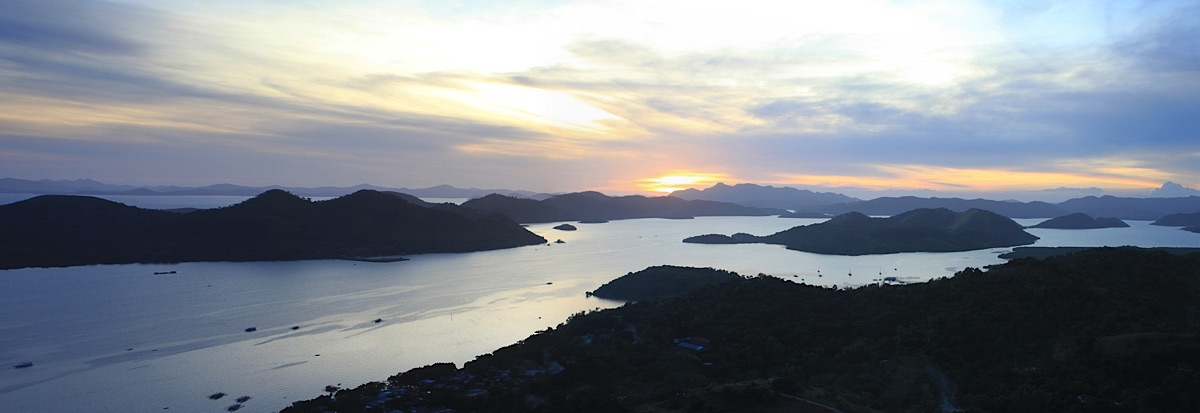 View on islands Palawan