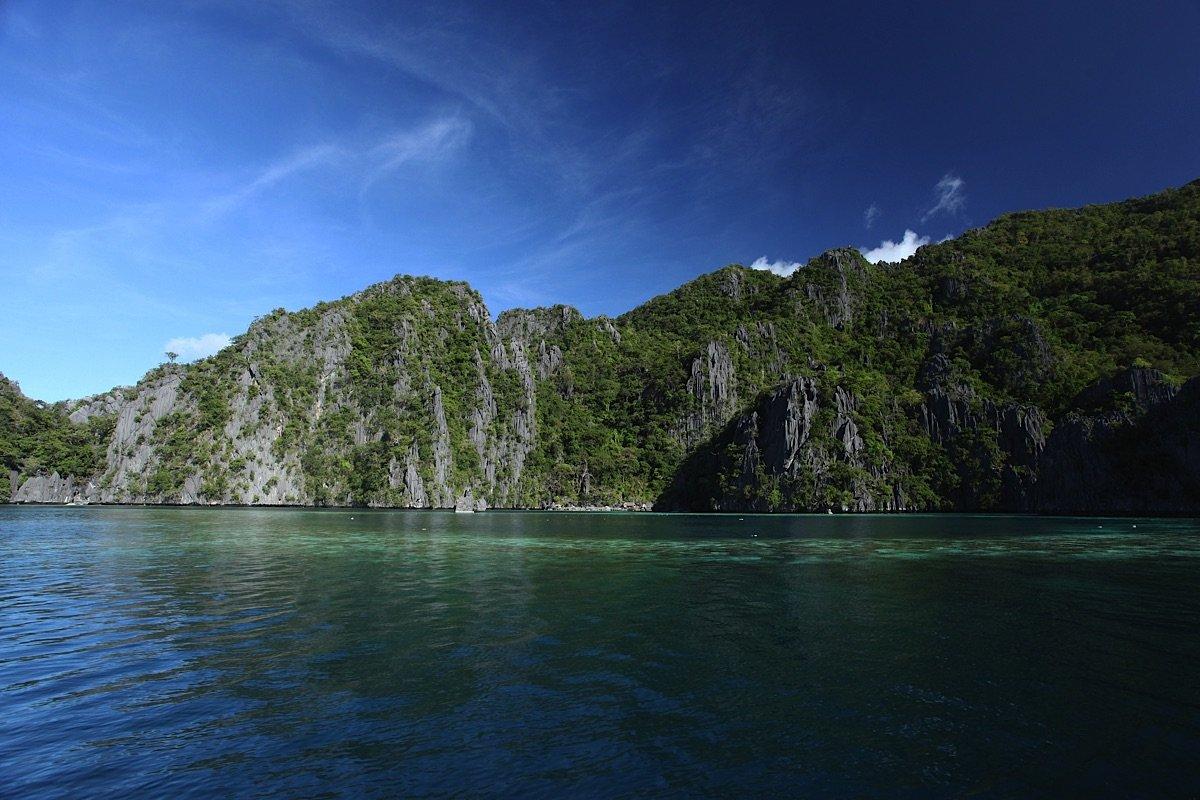 Palawan Limestone cliffs Palawan tours