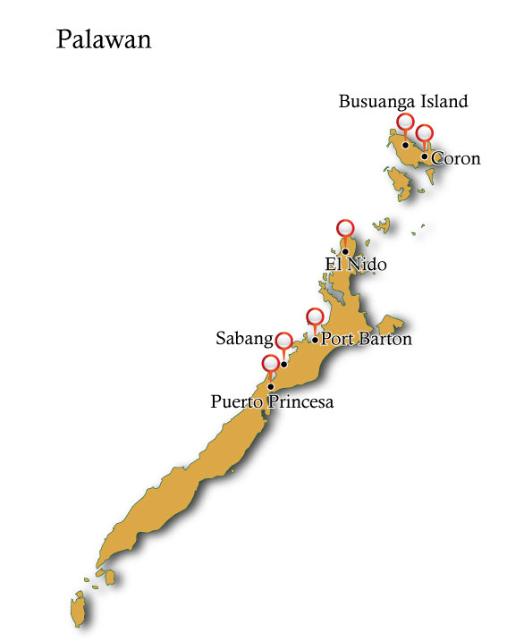 Map Palawan