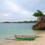 banca on beach Panay