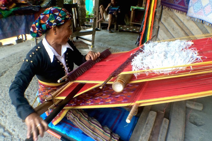 Weaving Yakan village